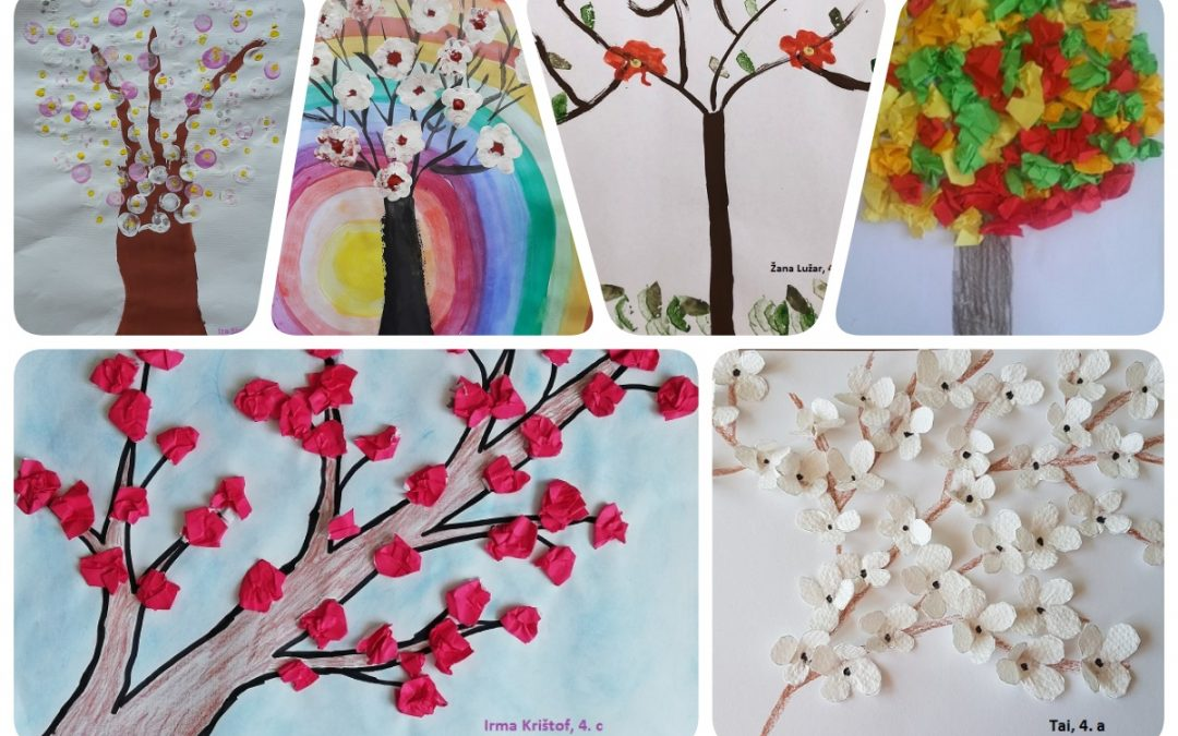 Cvetoča drevesa