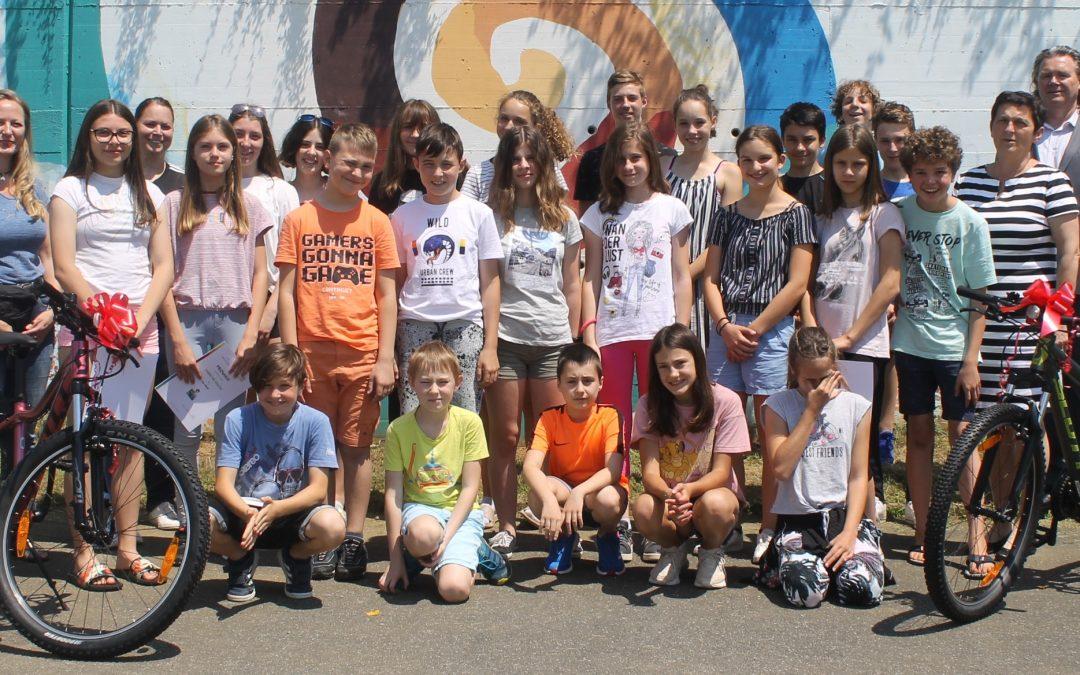 Slavnostni zaključek projekta Varno na kolesu